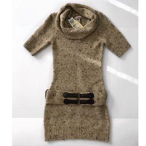 NWT Sweater Dress size M turtleneck